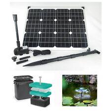 50W Solar Pond Pump Submersible Pump Solar Pump Filter Pond Pump Pond Garden
