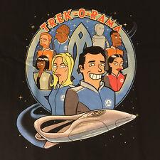 Shirtpunch Mashup Orville Star Trek Futurama Inspired Fan Shirt Size XL