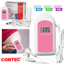 FDA Baby Sound Fetal Doppler Handheld Prenatal Heart Rate Monitor LCD,US Seller