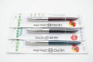 Hero 616 Jumbo Size Fountain Pen Iridium F Nib 0.5mm Ink Pen
