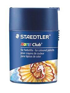 Staedtler 512 002 Noris Club Double-Hole Tub Sharpener - Blue
