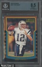 2000 Bowman Football #236 Tom Brady RC Rookie BGS 8.5 NM-MT+