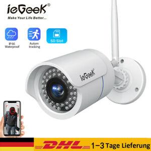 ieGeek 1080P WLAN WIFI IP Kamera Netzwerk Außen Überwachungskamera Outdoor ONVIF