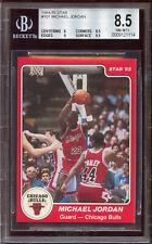 💎 1984-85 Star Michael Jordan #101 - 'Holy Grail' HOF Rookie RC- BGS 8.5 NM-MT+