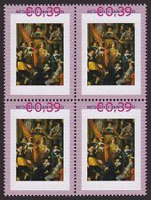 Persoonlijke zegels Rembrandt BLOK van 4 2420-A-17 SCHAARS Albert Bas Korporaal