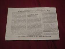 1979 BUICK SKYLARK CENTURY REGAL RIVIERA LESABRE NEW CAR PRICE LIST BOOKLET