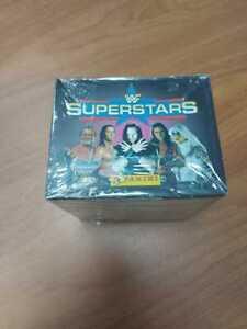Panini 1997 WWF Superstars wrestling stickers sealed box(50 packets)