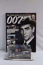 JAMES BOND 007 SEAN CONNERY CHEVROLET BEL AIR DIECAST MODEL #33