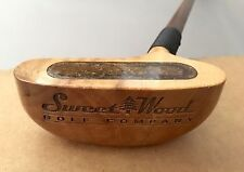 Sweet Woods Golf Company Playboy Golf Vintage Putter Custom Made Wood Shaft