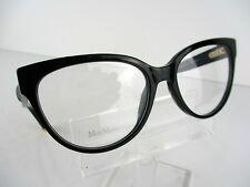 NEW Max Mara MM 1249 (807) Black 55 x 17 140 mm Eyeglasses Frames