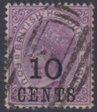 BRITISH HONDURAS 1888 10 C. SU 4 d. N.40 USATO