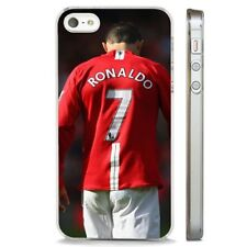 Ronaldo Manchester United Portugal CLEAR PHONE CASE COVER fits iPHONE 5 6 7 8 X