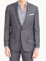 JCREW Ludlow Slimfit suit jacket with double vent in Italian worsted wool Sz34S