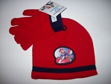 Nintendo Mario Kart Wii Boys Hat Glove 2pc Cold Weather Set Sz OSFM Stocking NWT