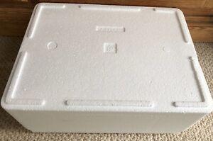 Isolierbox Kühlen Transportbox Styroporbox Styroporkiste Angeln Aufbewahrung Eis