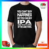 You Cant Buy Happiness But You Can Buy IPA T-Shirt Shirt Tee Tshirt Cool Beer