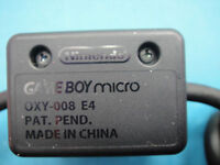 LINK SYNC DATA Adapter AV CABLE FOR GAMEBOY GAMING BOY MICRO GBM Nintendo