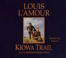 Louis L'Amour KIOWA TRAIL Unabridged CD *NEW* FAST 1st Class Ship!