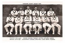 rp15778 - Yorkshire County Cricket Team - photograph 6x4
