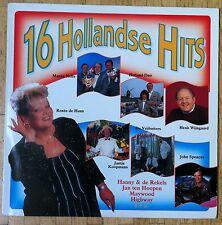 VARIOUS ARTISTS 16 Hollandse Hits LP/DUTCH