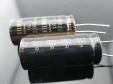 2 Pcs Japan ELNA 2200UF 16V SILMIC II Series High-END HIFI Audio Capacitor CAP