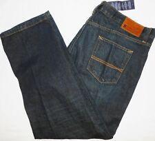 New 40x30 Tommy Hilfiger Custom Straight Blue Jeans 100% Cotton Men's Denim NWT