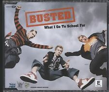 Busted - What I Go to School for CD Single excellent