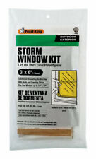 Frost King  Clear  Outdoor  Storm Window Kit  3 ft. W x 6 ft. L