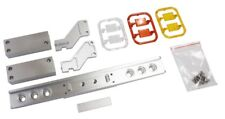 Parts Alu Container Tailight Bumper W Round Light For Tamiya 1/14 Semi-Trailer