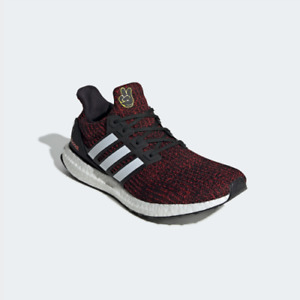 New Adidas UltraBoost 4.0 Disney Mickey Mouse Shoes FX7796 - Black/ Red Sneakers