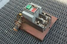 Vintage Snap On Arc Welder Allen Bradley Power Switch Ws 1522 With Housing Cover