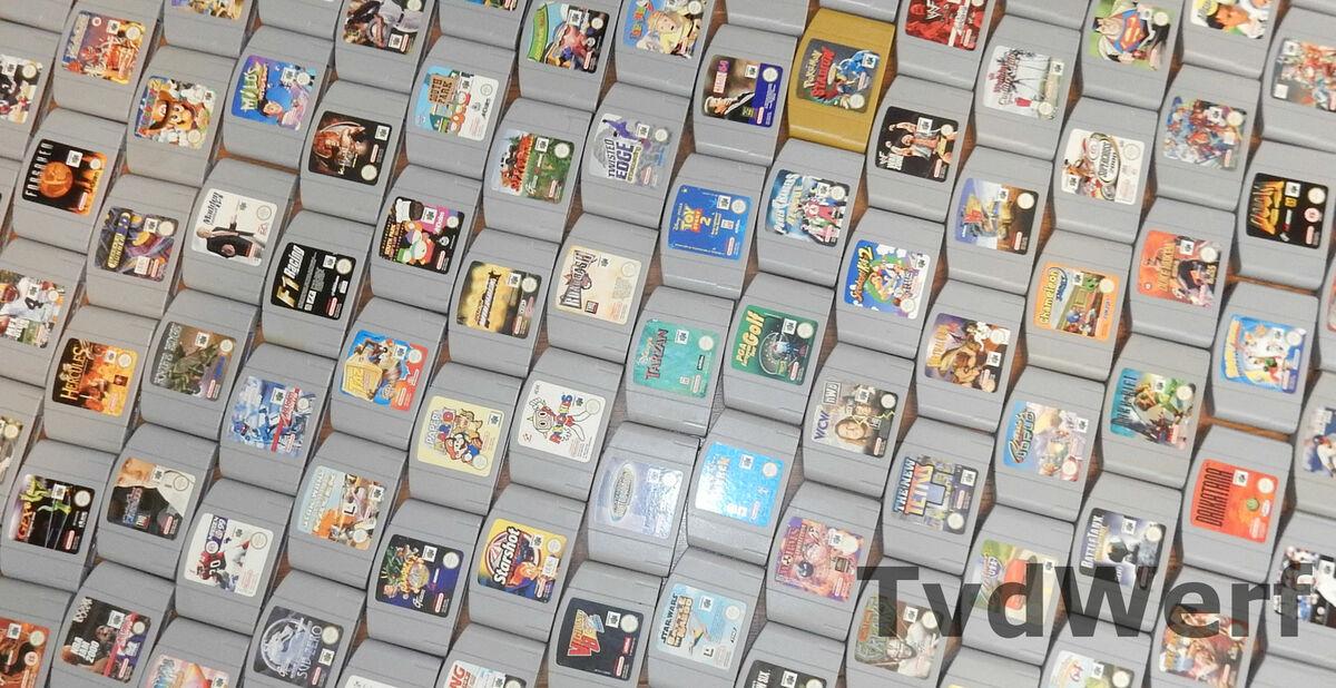 tvdwerf Nintendo 64 Retro Games