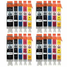 20 Ink Cartridges (5 Set) for Canon MG5750 MG6850 MG7751 TS5053 TS8050 TS9055