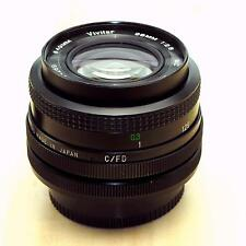 Canon fd fit 28mm f2.8 wide angle lens by Vivitar  in fine condition