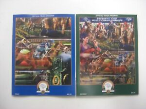 2015 - Breeders Cup @ Keeneland - Friday & Saturday programs - All MINT