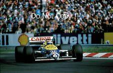 Nelson Piquet Williams FW11B ganador húngaro Grand Prix 1987 fotografía 5