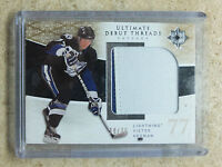09-10 UD Ultimate Debut Threads Patch RC Rookie VICTOR HEDMAN /35