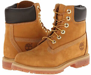 """Authentic Womens Timberland Premium 6"""" Boot - Available in Wheat & Black Color"""