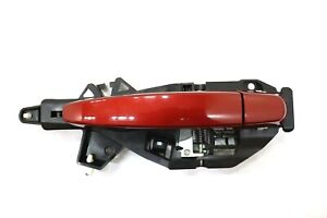 2014 CHEVROLET IMPALA FRONT LEFT OUTSIDE DOOR HANDLE RED PAINT CODE G7P