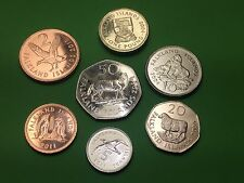 Nice Coins set Falkland 50,20,10,5,2,1p, £1 UNC