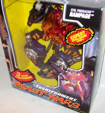 Beast Wars Transmetals  RAMPAGE *Case Fresh Mostly SHARP SEALED - discounted