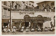 FRASCATI – Piazza Del Municipio Real Photo Postcard rppc – Rome – Italy