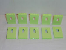 NEW LEGO Yellowish Green 1X4X5 Panel Bricks with Window Lot of 10 Pieces Castle