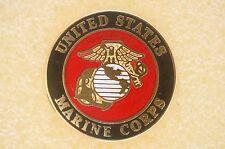 US USA USMC Marine Corps Military Hat Lapel Pin