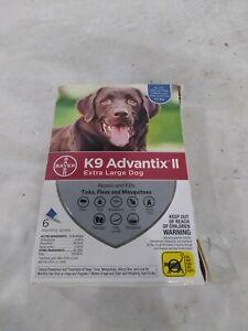 K9 Advantix II Flea & Tick Prevention Extra Large Dogs >55 lbs