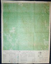 6438 i - MAP - LAOS JUNGLE OPS - White Star - DAK PLAOUAT - 1973 - Vietnam War