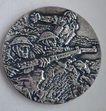 POLISH POLAND WWII MONTE CASSINO battle commemorative MEDAL silvered
