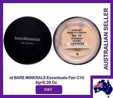 2 x id Bare Minerals Escentuals -BareMinerals- Original Fair (C10)8gr/0.28 Oz