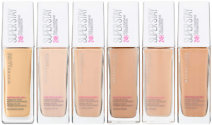 MAYBELLINE SuperStay 24h Foundation 30ml (New Design) CHOOSE SHADE - NEW Sealed