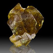 "0.7"" Sharp Shiny Orange-Brown BASTNAESITE Terminated Crystals Pakistan for sale"